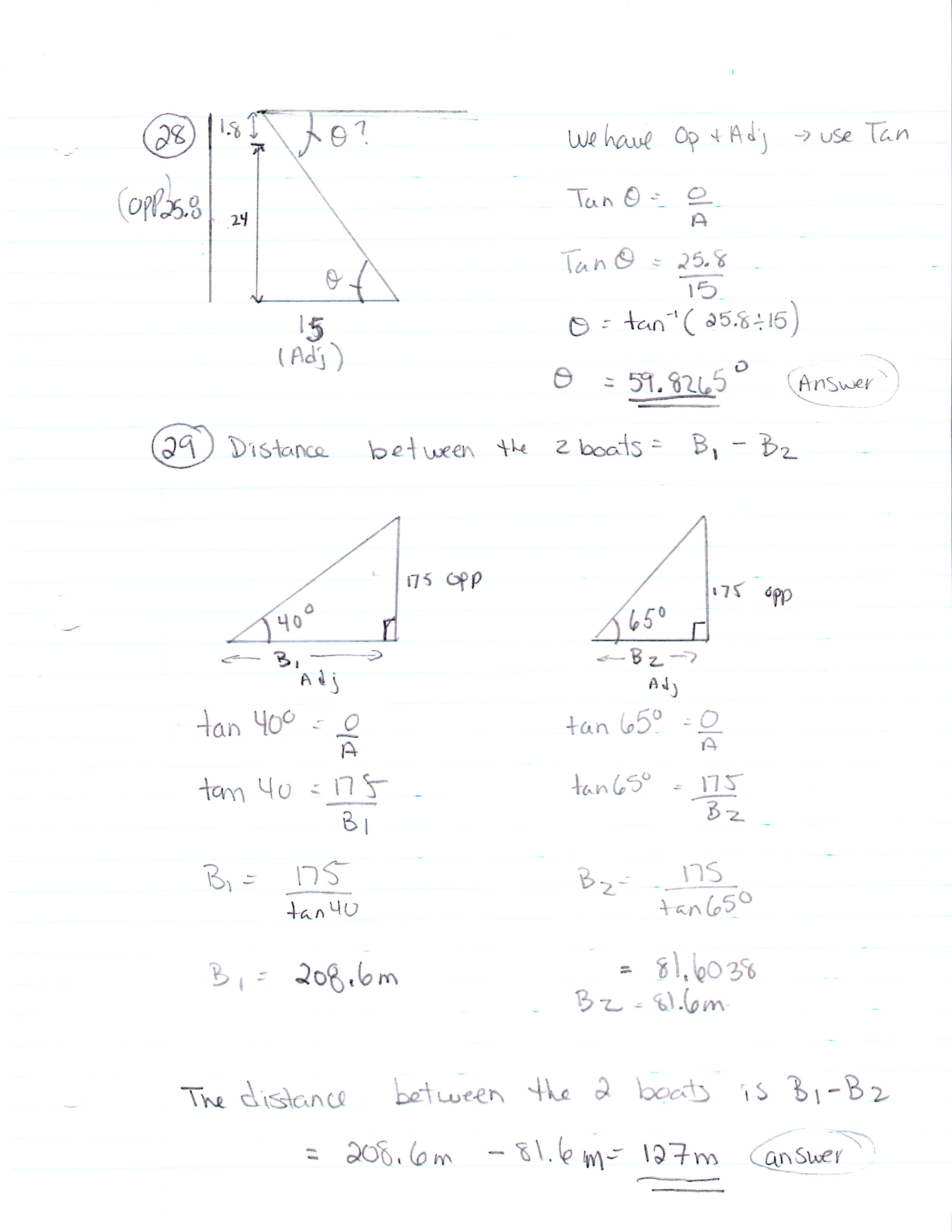 trigonometry word problems worksheets Worksheets for Kids – Right Triangle Word Problems Worksheet